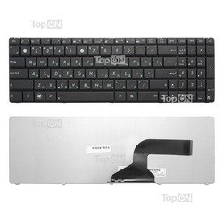 Клавиатура для ноутбука Asus N53, N51, N52, N50, N60, N61, N70, N71, N73, K52, K53, F50, F70 (TOP-81084)