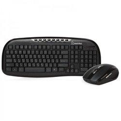 Клавиатура+мышь Smartbuy 205507AG (черный)