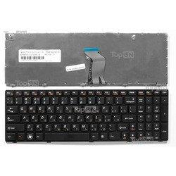 Клавиатура для ноутбука Lenovo IdeaPad Z560, Z565, G570, G575, G770 (TOP-86695)