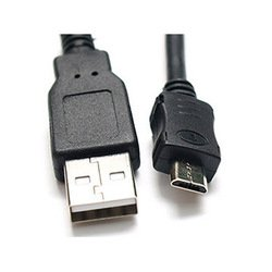 Кабель USB AF-microUSB M (Rexant 18-1161) (черный)