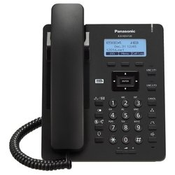 IP-телефон Panasonic KX-HDV130RU (черный)