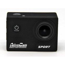 Автомобильный видеорегистратор и экшн-камера AdvoCam FD Sport (черный)
