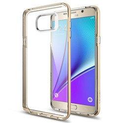 Чехол-накладка для Samsung Galaxy Note 5 (Spigen Neo Hybrid Crystal SGP11711) (шампань)