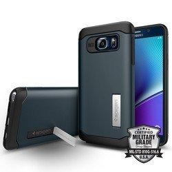 Чехол-накладка для Samsung Galaxy Note 5 (Spigen Slim Armor SGP11710) (металлический)