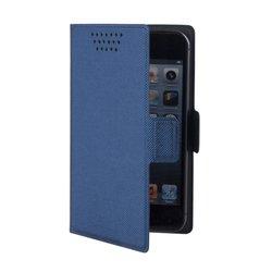 """Универсальный чехол-книжка для смартфонов до 5.7"""" (Muvit MUCUN0285) (синий)"""