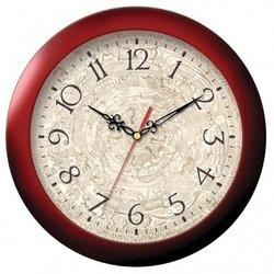 Часы настенные Тройка 11131149 (красно-бежевый)