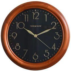 Часы настенные Тройка 11162180 (черный)