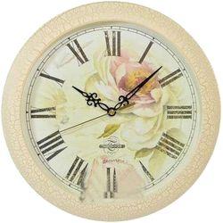 Часы настенные Тройка 11173107 (бежевый)