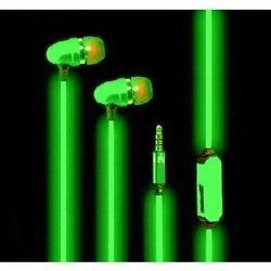 Светящиеся наушники (GLOW EL PX/EL GRE) (зеленый)