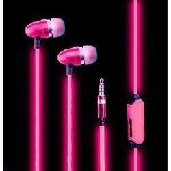 Светящиеся наушники (GLOW EL PX/EL PINK) (розовый)