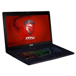 "msi gs70 2qe stealth pro (core i7 5700hq 2700 mhz/17.3""/1920x1080/8gb/1128gb/dvd ���/nvidia geforce gtx 970m/wi-fi/bluetooth/win 8 64)"