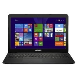 "asus x554la (core i3 5005u 2000 mhz/15.6""/1366x768/4.0gb/500gb/dvd-rw/intel hd graphics 5500/wi-fi/bluetooth/dos)"