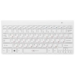 microxperts kb-slw001bt white bluetooth