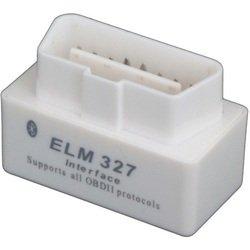 Универсальный бортовой компьютер (автосканер) ParkCity ELM-327BT (белый)
