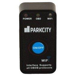 Универсальный бортовой компьютер (автосканер) ParkCity ELM-327WF (черный)