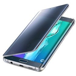 Чехол-книжка для Samsung Galaxy S6 Edge+ (EF-ZG928CBEGRU Clear View) (синий)