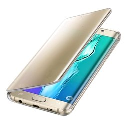 �����-������ ��� samsung galaxy s6 edge+ (ef-zg928cfegru clear view) (����������)