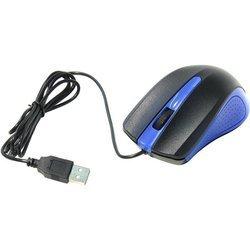Оптическая компьютерная мышь Oklick 225M (USB) (сине-черный)
