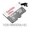 SanDisk Video Full-HD / Super-HD, Ultra SPEED, 64Gb For PANTERA-HD - Карты памятиКарты памяти<br>Карта специально разработана для работы с видео высокого разрешения Full-HD и Super-HD. Передача данных на скорости до 48Мб/с наилучшим образом подходит для видеорегистраторов PANTERA-HD, которые требуют высокоскоростной передачи (записи) видео данных в разрешении Super-HD 2560х1080. Другие, менее скоростные и дешовые карты приведут к разрывам и подттормаживанию видео. В этом случае придется устанавливать меньшее разрешение, качество видео и битрейт в видеорегистраторе PANTERA-HD, что по сути не даст использовать видеорегистратор на полную его мощьность.<br>