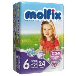 Molfix подгузники 7/24 (16+ кг) 24 шт.
