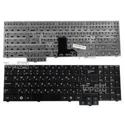Клавиатура для ноутбука Samsung R519, R523, R525, R528, R530, R538, R540, R610, R618, R620, R717, R719, R728 (TOP-82765)