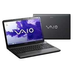 "sony vaio sve1511s9r (core i5 2450m 2500 mhz/15.5""/1366x768/4096mb/500gb/dvd-rw/wi-fi/bluetooth/win 7 pro 64)"