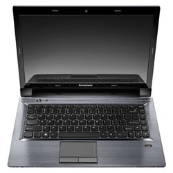 "lenovo ideapad v470 (core i5 2450m 2500 mhz/14.0""/1366x768/4096mb/500gb/dvd-rw/wi-fi/bluetooth/dos/серебристый)"
