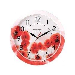 Часы настенные Тройка 11000009 (Маки)
