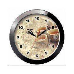 Часы настенные Тройка 11100188 (коричневый)