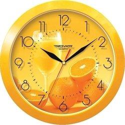 Часы настенные Тройка 11150131 (желтые)