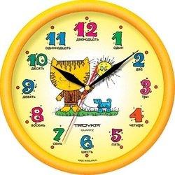 Часы настенные Тройка 21250290 (Котенок)