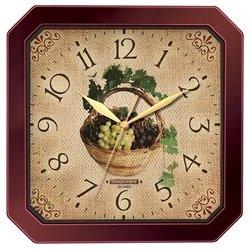 Часы настенные Тройка 31331311 (Корзина винограда)