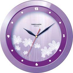 Часы настенные Тройка 11143123 (Фиолетовые Цветы)
