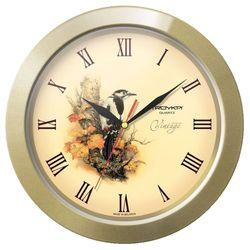 Часы настенные Тройка 11171180 (золотистый)