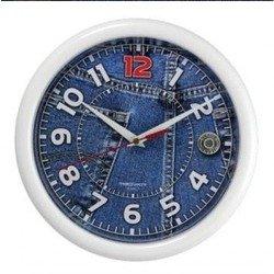 Часы настенные Тройка 21210252 (Джинсы)