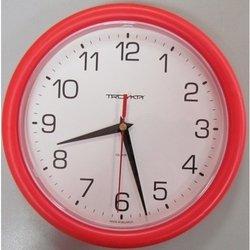 Часы настенные Тройка 21230213 (бело-красные)