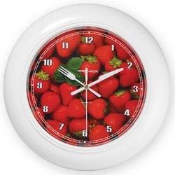 Часы настенные Тройка 71711262 (Клубника)