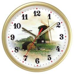 Часы настенные Тройка 91971925 (Мельница)