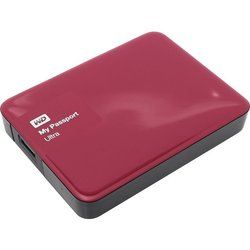жесткий диск wd my passport ultra 3tb (wdbnfv0030bby-eeue) (красный)