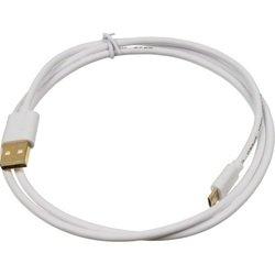 Кабель USB AM-microUSB BM 1м (Behpex) (белый)