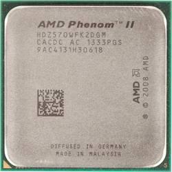 Процессор AMD Phenom II X2 570 AM3 (HDZ570WFK2DGM) (3.5GHz, 4000MHz) OEM