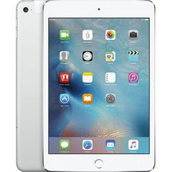 Apple iPad mini 4 128Gb Wi-Fi + Cellular (MK772RU/A) (серебристый) :::