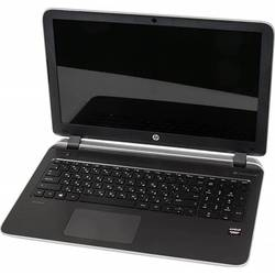 "ноутбук hp pavilion 15-p214ur a10 5745m, 4gb, 500gb, dvd-rw, amd radeon r7 m260 2gb, 15.6"", hd (1366x768), windows 8.1 64, silver, wifi, bt, cam, 2580mah"