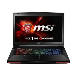 "msi gt72 2qe(dominator pro g)-1490ru core i7 5700hq, 16gb, 1tb, ssd256gb, blu-ray, nvidia geforce gtx 980m 8gb, 17.3"", fhd (1920x1080), windows 8.1 single language 64, black, wifi, bt, cam, bag"
