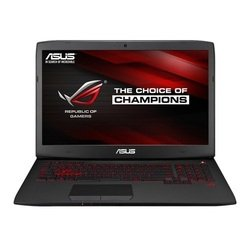 "ноутбук asus g751jl-t7066h core i7 4850hq, 8gb, 2tb, dvd-rw, nvidia geforce gtx 965m 2gb, 17.3"", ips, fhd (1920x1080), windows 8.1 64, black, wifi, bt, cam, 6000mah"