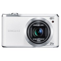 "фотоаппарат samsung wb380f белый 16.3mpix zoom21x 3"" 1080p 9.5mb microsdxc bsi-cmos is opt 10minf toulcd, wifi, slb-10a"