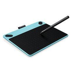 Планшет для рисования Wacom Intuos Draw Pen S USB (CTL-490DB-N)  (голубой)