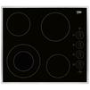 Beko HIC 64101 X (черный) - Варочная поверхностьВарочные панели<br>Тип панели: электрическая, установка: независимая, всего конфорок 4, материал панели: стеклокерамика, рамка, расположение панели управления: сбоку, индикатор остаточного тепла.<br>