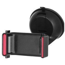 Универсальный автомобильный держатель для устройств от 5.5 до 8.5 см (Wiiix HT-10T) (черный)