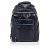 Рюкзак PIQUADRO Blue Square (CA1813B2/BLU2) (синий) - КожаКожа<br>Рюкзак из натуральной кожи. Оторочка по канту, подкладка - голубым.Три отделения на молнии.<br>